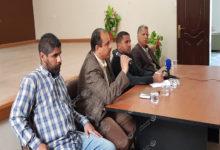 Photo of مؤتمر صحفي للمجلس التسييري لبلدية اجدابيا حول المشروعات المقامة بالبلدية