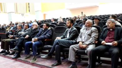 Photo of اجتماع في زوارة لمفتشي العمل والسلامة المهنية للمنطقة الغربية