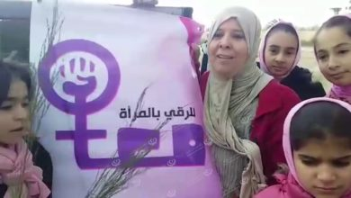 Photo of حملة تشجير في مدارس مدينة زوارة