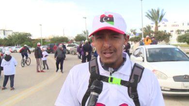 Photo of مواطنون يتبادلون التهاني في الذكرى التاسعة لثورة السابع عشر من فبراير