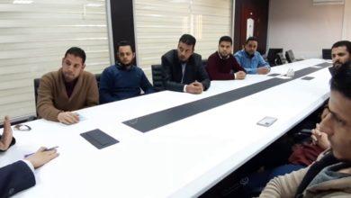 Photo of كلية التقنية الإلكترونية بني وليد تناقش آلية العمل بأقسامها
