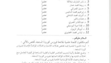 Photo of تفعيل مجمع زاوية الدهماني للكشف عن حالات الاشتباه بفيروس (كورونا) المستجد