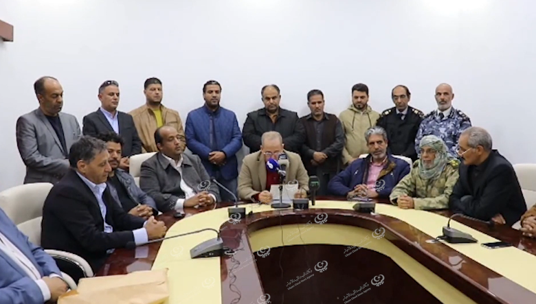 Photo of لجنة الطوارئ ببني وليد تقرر إقفال كافة المنافذ بالمدينة