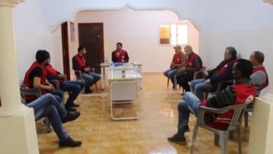 Photo of اجتماع الهلال الأحمر قمينس لبحث حملات التوعية والإرشاد