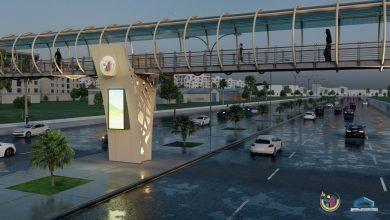 Photo of وضع أساسات وقواعد الجسر الرابط بين محلة باب السلام و غرغور