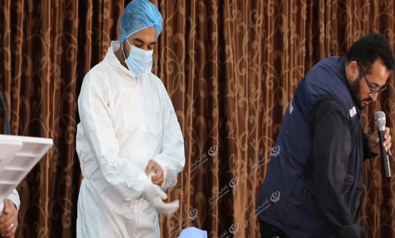 Photo of اللجنة الطبية الاستشارية بالواحات تنظم دورة توعوية لمكافحة وباء (كورونا) بإجخرة