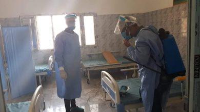 Photo of مغادرة الحالتين المصابتين بفيروس (كورونا) لمركز العزل الصحي بسبها