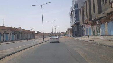Photo of الحركة تقل والمحال التجارية مغلقة بعد الظهر في مدينة سبها