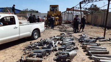 Photo of تفجير مخلفات الحروب التي تم انتشالها  وابطال مفعولها