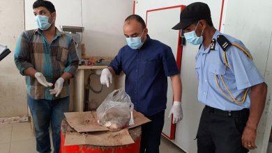 Photo of قفل سلخانة لبيع اللحوم ببلدية الزهراء نظراً لانعدام الشروط الصحية