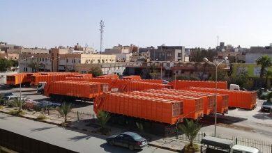 Photo of بلديات طرابلس الكبرى تستلم عدد (20) مقطورة ضاغطة للنفايات