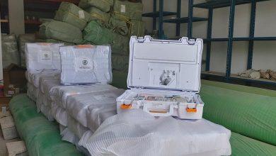 Photo of مركز الرقابة على الأغذية و الأدوية يوزع (حقيبة المفتش) على كافة الفروع والمكاتب