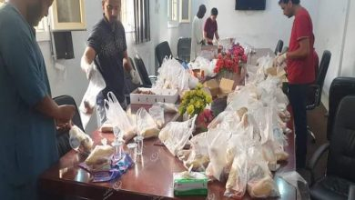 Photo of الرابطة الوطنية لدعم الشباب بسبها توزع 600 وجبة إفطار على المهاجرين