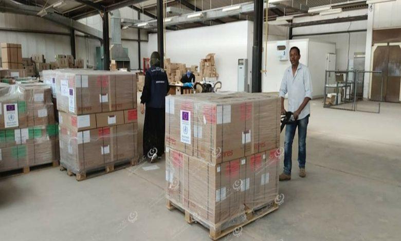 Photo of منظمة الصحة العالمية توزع أدوية ومستلزمات طبية على عدد من بلديات الجنوب