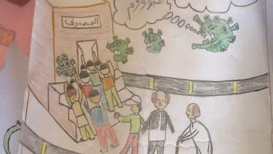 Photo of نشاط مدرسي يتناسب مع ظروف حظر التجوال وتوقف الدراسة ببلدية درج