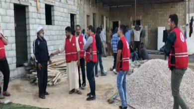 Photo of الهلال الأحمر ببني وليد يوزع وجبات إفطار على عابري السبيل