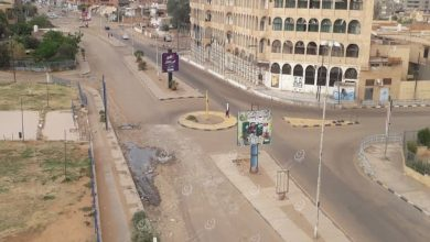 Photo of صور لشوارع مدينة سبها خلال ساعات حظر التجوال
