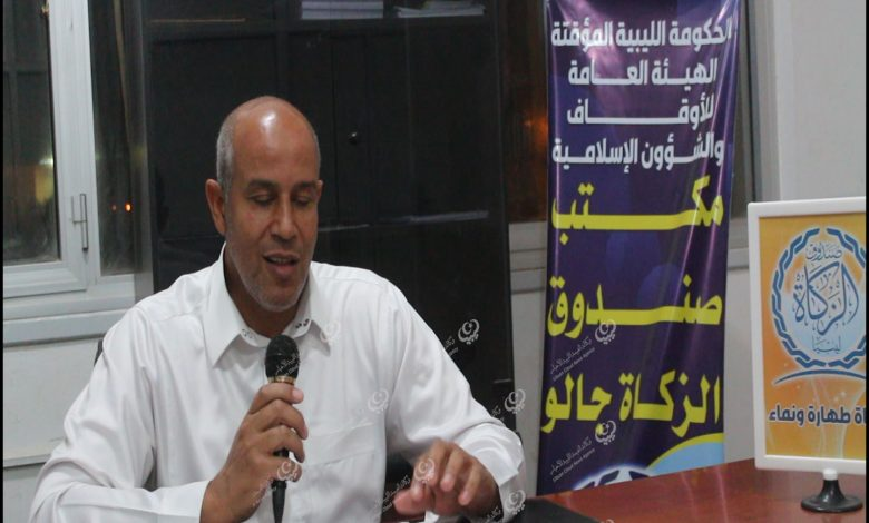 Photo of تاجر من طبرق يزود مكاتب الزكاة بالواحات بشحنة من التن والزيتون
