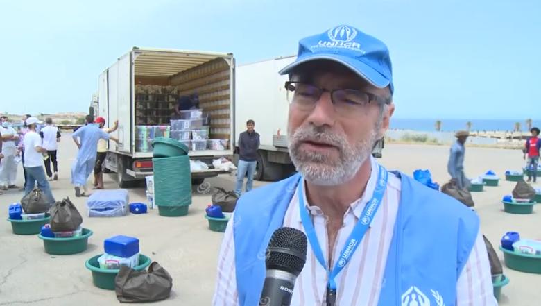 Photo of مفوضية شؤون اللاجئين تُقدم مساعدات للنازحين الليبيين واللاجئين وطالبي اللجوء
