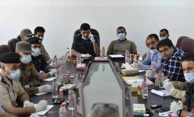 Photo of غلق حدود مدينة اجدابيا بالكامل نتيجة لارتفاع عدد حالات الإصابة بفيروس (كورونا)
