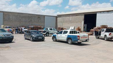 Photo of حملة تفتيش على مخازن المواد الغذائية بمنطقة الكريمية جنوب طرابلس