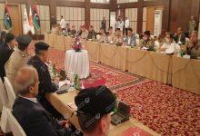 Photo of اجتماع لمناقشة عمل لجنة متابعة توصيات دمج القوة المساندة بمؤسسات الدولة