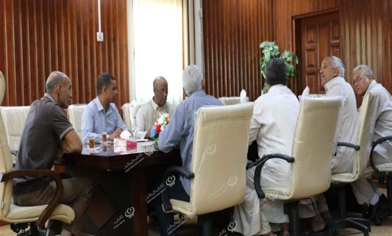 Photo of تسييري جالو يجتمع مع ممثلي محطات الوقود وغاز الطهي بالمدينة