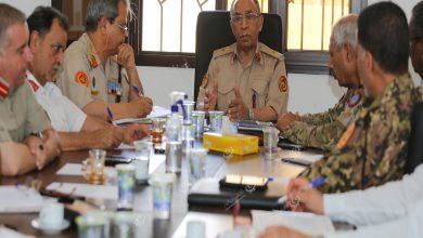 Photo of لجنة إدماج القوة المساندة تناقش مستجداتها مع رئيس الأركان العامة بوزارة الدفاع
