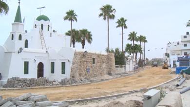 Photo of المراحل الآخيرة في صيانة وتطوير طريق (درغوث) بالمدينة القديمة طرابلس