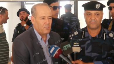 Photo of جولة أمنية لمدير إدارة الدعم المركزي في مدينة بني وليد