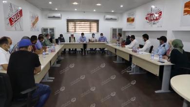 Photo of اجتماع لجنة وفريق الأزمات والطوارئ بلدية ابوسليم