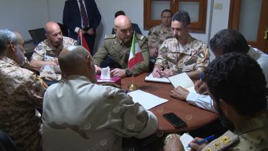 Photo of إتفاق ليبي إيطالي في مجال تدريب فرق الهندسة العسكرية