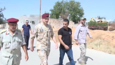 Photo of زيارة ميدانية للبعثة الإيطالية للمساعدة والدعم في إزالة الألغام إلى منطقة عين زارة