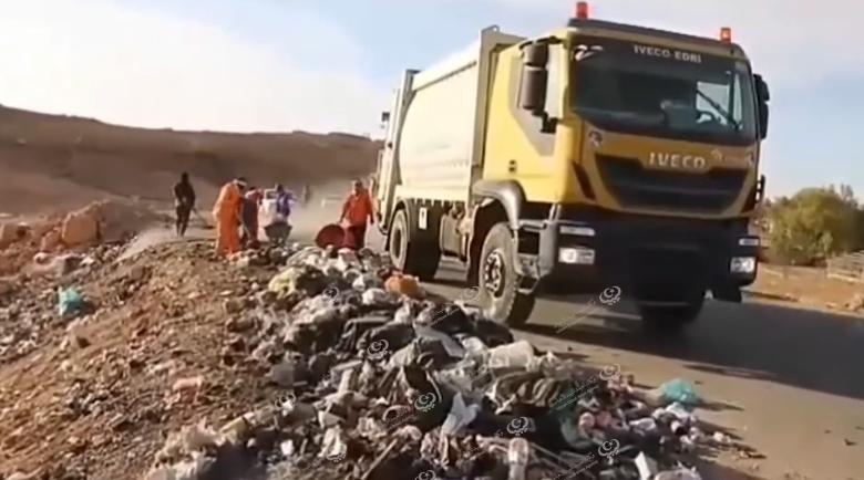 Photo of حملة لتنظيف شوارع وأحياء مدينة بني وليد