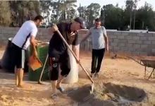 Photo of صيانة وتجهيز ملعب (الزهراء) بالكريمية بالجهود التطوعية