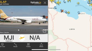 Photo of (3) رحلات جوية تقلع من مطار معيتيقة الجوي صباح اليوم