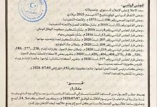 Photo of المجلس الرئاسي يمدد حظر التجول لمدة (10) أيام أخرى مع تعديل بعض الضوابط