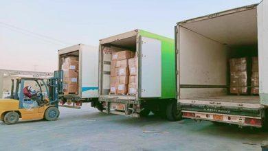 Photo of شحنة من الإمدادات الطبيّة لدعم جهود مكافحة فيروس (كورونا) في مدينة سبها