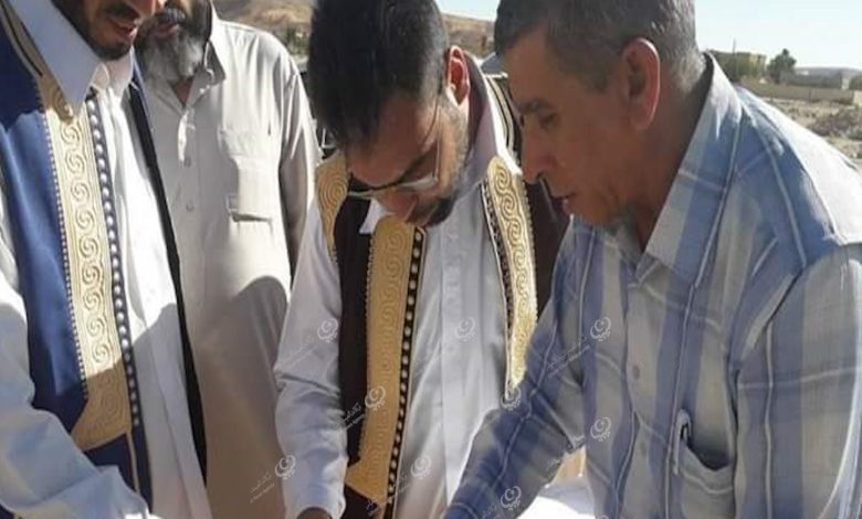 Photo of لجنة من شركة هاتف ليبيا تزور بلدية نسمة لاستكمال مشروع الألياف البصرية