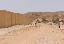 Photo of تنفيذ طريق داخل مدينة نسمة بطول (800) متر