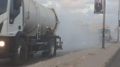 Photo of حملة لتعقيم شوارع وأحياء بلدية بنغازي
