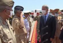 Photo of وزير الدفاع التركي يصل إلى طرابلس