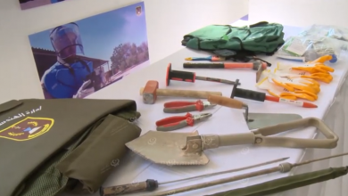 Photo of إدارة الهندسة العسكرية تُنظم معرض خاص بالألغام ومخلفات الحرب
