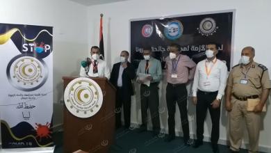 Photo of لجنة مجابهة وباء (كورونا) ببلدية صرمان تعقد مؤتمراً صحفياً