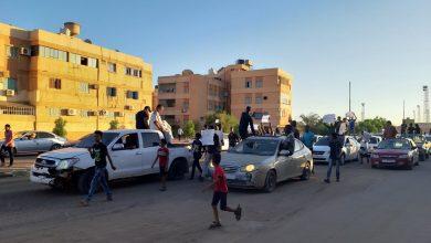 Photo of مظاهرة لشباب محلة الثانوية على تردي الوضع المعيشي والخدمي في سبها