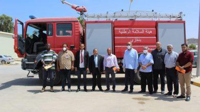 Photo of المؤسسة الوطنية للنفط تدعم هيأة السلامة الوطنية ببلدية أوباري