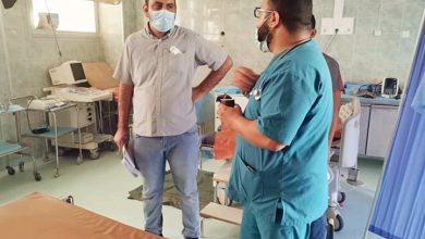 Photo of لجنة من الصليب الأحمر الدولي تزور مستشفى مزدة العام