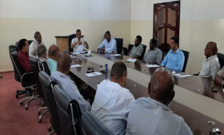 Photo of اجتماع المراقبين الماليين لإعداد الميزانية لسنة (2021) بجالو