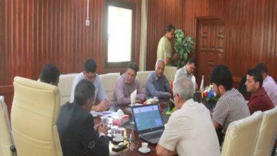 Photo of بلدية جالو تناقش مشاكل المياه مع الهيئة الوطنية للمياه