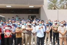Photo of وقفة تضامنية دعما للمختبر المرجعي لصحة المجتمع بالمركز الوطني لمكافحة الأمراض